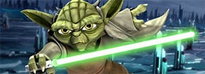 Yoda batalha slash Game