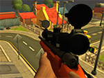 Zombie Miasto Sniper Shootin