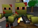 Minecraft Zumbi khối 3D